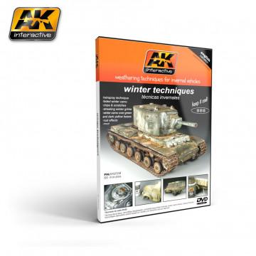DVD Tecniche di Weathering per Veicoli Invernali