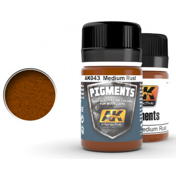 Pigmenti AK Medium Rust