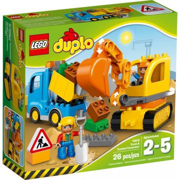 Duplo - Camion e Scavatrice Cingolata