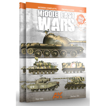 Guida Colors Profile Middle East Wars 1948-73 Vol.1 in Inglese