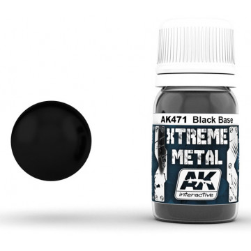Vernice AK Xtreme Metal Black Base