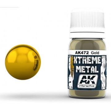 Vernice AK Xtreme Metal Gold
