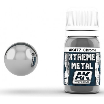 Vernice AK Xtreme Metal Chrome