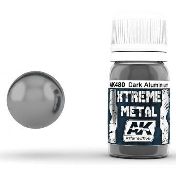 Vernice AK Xtreme Metal Dark Aluminium