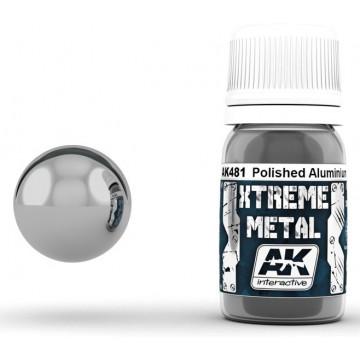 Vernice AK Xtreme Metal Polished Aluminium