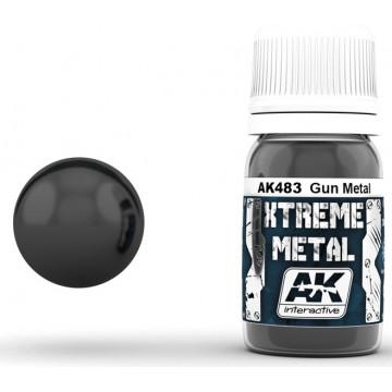 Vernice AK Xtreme Metal Gun Metal