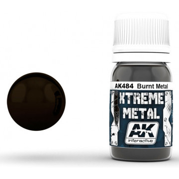 Vernice AK Xtreme Metal Burnt Metal