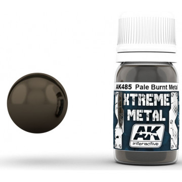Vernice AK Xtreme Metal Pale Burnt Metal