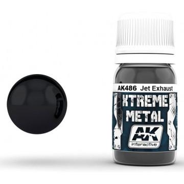 Vernice AK Xtreme Metal Jet Exhaust