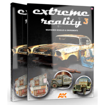 Extreme Reality n.3 Weathered Vehicles and Environments in Inglese