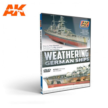 DVD Weathering German Ships nel Formato NTSC