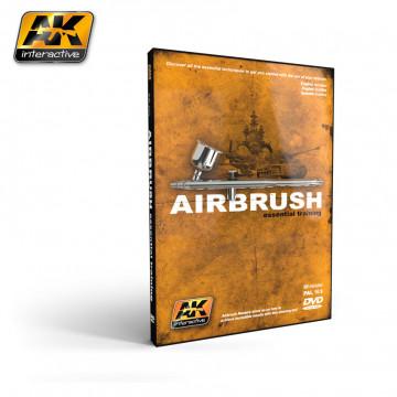 DVD Airbrush Essential Training nel Formato NTSC