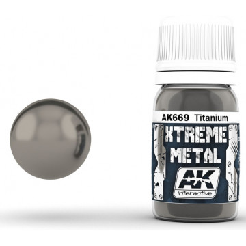 Vernice AK Xtreme Metal Titanium