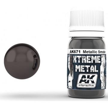 Vernice AK Xtreme Metal Smoke Metallic