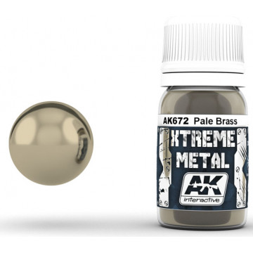 Vernice AK Xtreme Metal Pale Brass