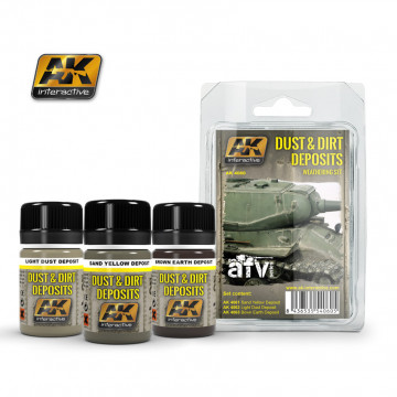 Dust and Dirt Deposits Weathering Set