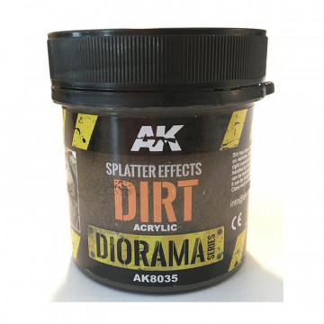 Splatter Effects Dirt Acrylic da 100ml