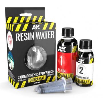 Resina Epossidica Bicomponente Effetto Acqua da 375ml