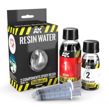 Resina Epossidica Bicomponente Effetto Acqua da 180ml