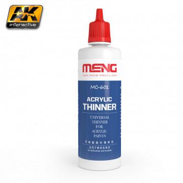 Diluente Meng Acrylic Thinner da 100ml
