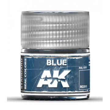 Vernice Acrilica AK Real Colors Blue 10ml