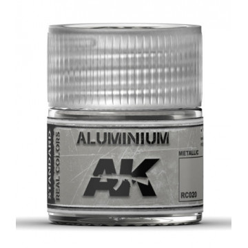 Vernice Acrilica AK Real Colors Aluminium 10ml