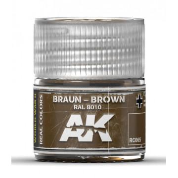 Vernice Acrilica AK Real Colors Braun-Brown RAL 8010 10ml