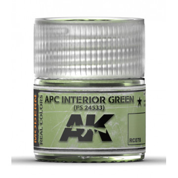 Vernice Acrilica AK Real Colors APC Interior Green Fs24533 10ml