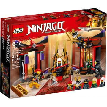 Ninjago - Duello Nella Sala del Trono