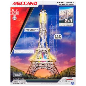 Set 2 in 1 - Torre Eiffel e Ponte di Brooklyn
