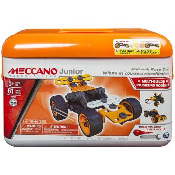 Meccano Junior - Toolbox Macchine da Corsa