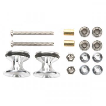 Double Roller in Alluminio con Gomma 13-12mm