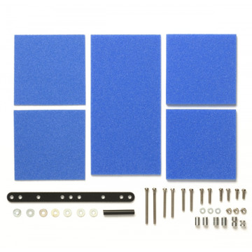Set Freno Spugne 1-2-3mm Blu