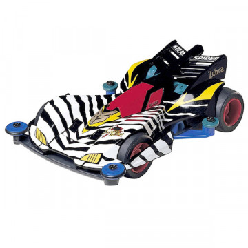 Mini 4WD Beak Spider Zebra