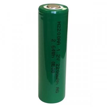 Batteria Stilo Ricaricabile Ni-Mh Tipo AA 1.2V da 1800 mAh