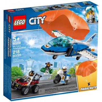 City - Arresto con il Paracadute della Polizia Aerea