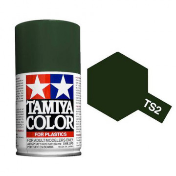 Vernice Spray Tamiya TS-2 Dark Green