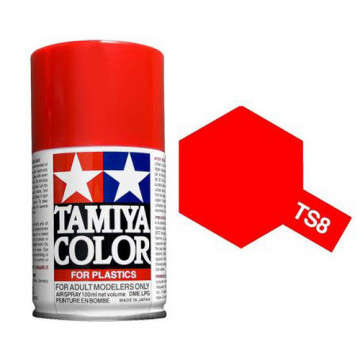 Vernice Spray Tamiya TS-8 Italian Red