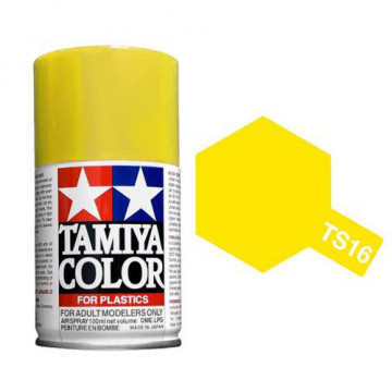 Vernice Spray Tamiya TS-16 Yellow