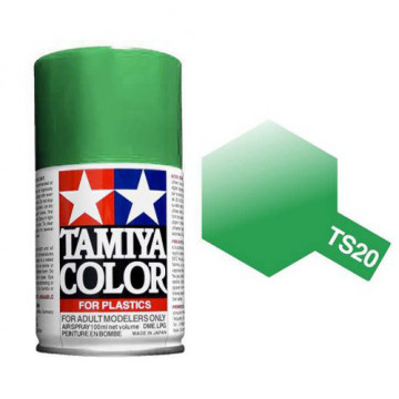 Vernice Spray Tamiya TS-20 Metallic Green