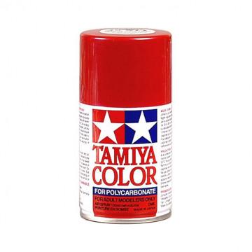 Vernice Spray Tamiya PS-15 Metallic Red per Policarbonato