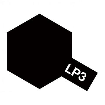 Vernice Tamiya LP-3 Lacquer Paint Flat Black