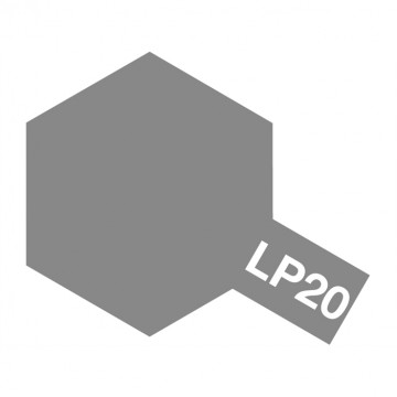 Vernice Tamiya LP-20 Lacquer Paint Light Gun Metal