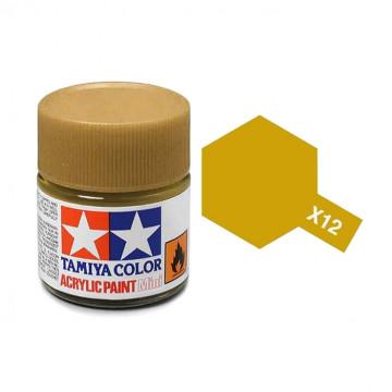 Vernice Acrilica Tamiya Mini X-12 Gold Leaf