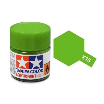 Vernice Acrilica Tamiya Mini X-15 Light Green