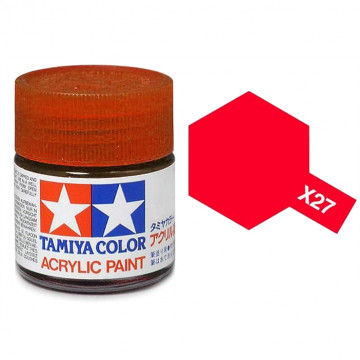 Vernice Acrilica Tamiya Mini X-27 Clear Red