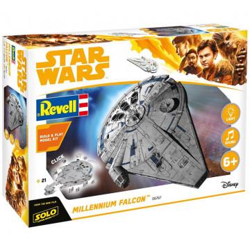 Build & Play Star Wars Millennium Falcon Han Solo 1:164
