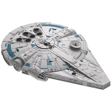 Build & Play Star Wars Millennium Falcon Han Solo 1:164