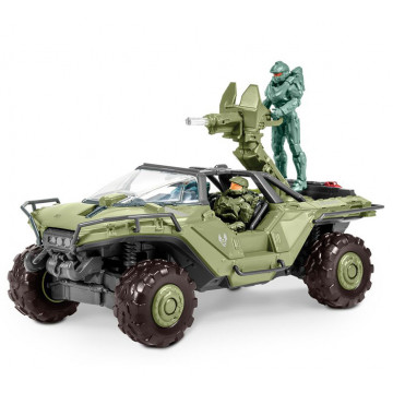 Build & Play Halo Unsc Warthog con Luci e Suoni 1:32