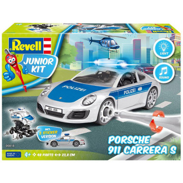 Junior Kit Porsche 911 della Polizia 1:20